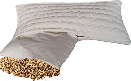 Natur-Shop Bio Dinkelkissen Komfort 40 * 80 cm